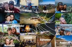2015 - Year End Review - Bicycle Touring - TwistingSpokes