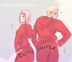 NaruSaku cute couple