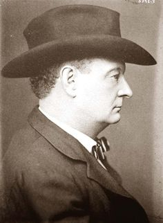 Cole Younger, in later life after release from prison. (co-leader of James -Younger Gang),