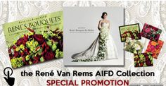 Rene Van Rems is a talented florist... you can learn to design like him with these books offered by Floral Supply Syndicate.  #diywedding #wedding #floral