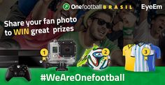 #WeAreOnefootball  We experience one of the most exciting World Cups EVER! It's time to show how passion looks like: Capture your emotions to win great prizes! Learn more