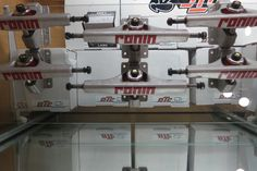 We now have the long awaited cast Ronin trucks (100% made in USA) in stock, come see what all the excitement's about.  http://www.ronintrucks.com