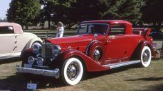 1933 Packard Twelve Dietrich coupe