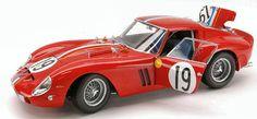 Ferrari 250 Gto #19 Le Mans 1962 1:18 Model KYOSHO | eBay