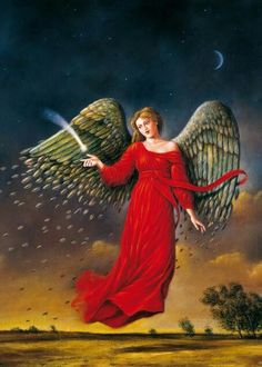 For what is it that Angels do? They beyond is good news. They open our eyes to moments of wonder, to lovely possibilities, to exemplary people, to the idea that God is here in our midst. They lift our hearts and give us wings....   ^i^ ▪ ♡ ▪ ^i^