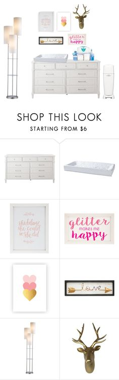 """""""Harp's changing station"""" by nycityprincess ❤ liked on Polyvore featuring interior, interiors, interior design, home, home decor, interior decorating, Home Decorators Collection, Serena & Lily, Playtex and Fetco"""