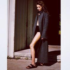 Style #emmetrend #fashionista #fashionblogger #birkestock #trend #coat