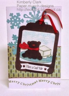Paper Munch: Cool Yule with MFT and basic grey