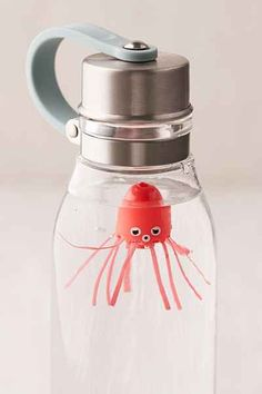 Jellyfish Water Bottle Toy from Urban Outfitters. Saved to My Wishlist. Shop more products from Urban Outfitters on Wanelo.