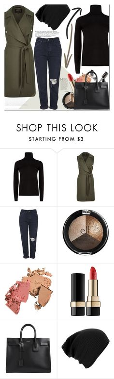 """""""Untitled #660"""" by es-vee ❤ liked on Polyvore featuring moda, MaxMara, River Island, Topshop, Dolce&Gabbana y Yves Saint Laurent"""