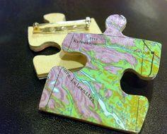 puzzle brooch | Pusselbroschen Kebne