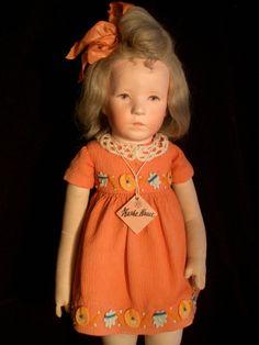 """Unsere Ulrike, die  Allerschönste ,             unbespielte Käthe Kruse Puppe, um 1932/33  Modell """" Ulrike """""""