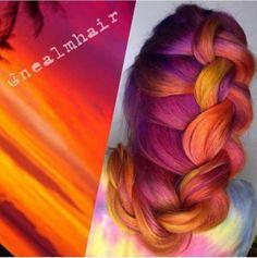 WOW Sunset Hair!