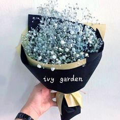 Korea Baby Breath Bouquet 满天星花束 on Carousell