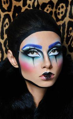Maquillage de Pierrot et Colombine - photo 15 - Ma Folie Des Fêtes