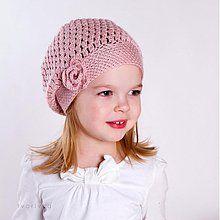 Detské čiapky - Úžasná! - NÁVOD na háčkovanú čiapku - 3614338