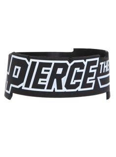 Pierce The Veil Logo Rubber Bracelet   Hot Topic