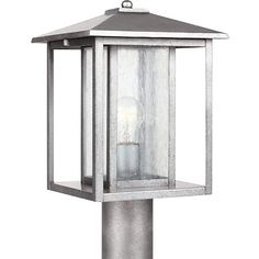 Amazon.com : Sea Gull Lighting 82027 57 Outdoor Post Mount With Clear Seeded