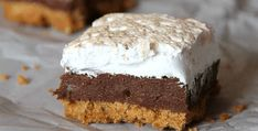 S'mores Fudge Bars – Oh So Heavenly! | The Baking Bit