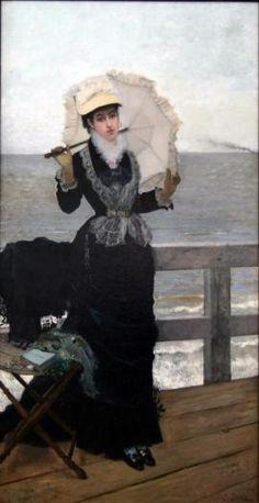 Exposition La Femme et la Mer, et au fil de l'eau autour d'Eugène Boudin. Du 24 au 30 septembre 2013 à Honfleur.