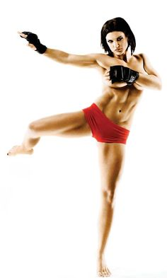 Gina Carano is the BIZNESS! Whether she's still fighting or not, she's a woman's MMA pioneer #GetItGirl