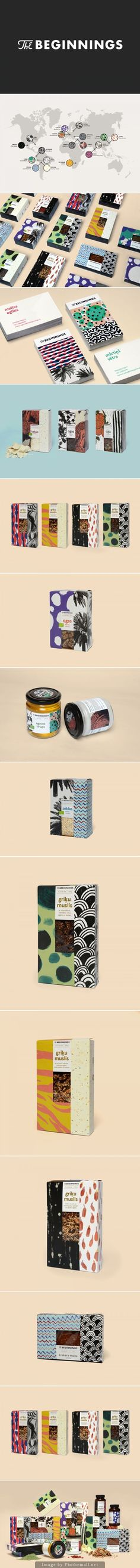 The Beginnings is interesting #identity #packaging #branding PD: