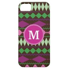 Personalized Monogram Custom Tribal Pattern iPhone 5 Cases #giftsreview#gifts#special