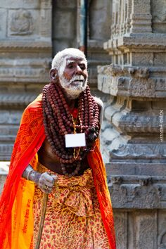 Sadhu, of India, Hindu holy men, who walk many miles every day, getting food from anyone willing to share and sleeping on the floor. Such a different depiction of how America sees yoga and Hinduism.