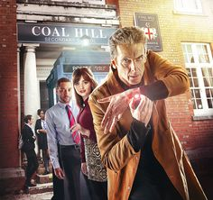 """New Clip and Photos from DOCTOR WHO Episode 6 """"The Caretaker"""" — GeekTyrant"""