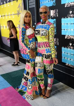 Amber Rose and Blac Chyna make a statement in matching bodysuit and dress looks