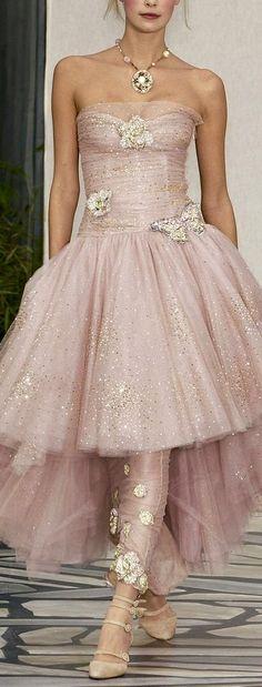Chanel so gorgeous in pastel pink #Luxurydotcom
