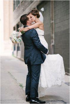 sigh, the cutest picture ever.  Jason + Haylea – Milwaukee Cuvee Wedding | Photographs by Jenna Leigh
