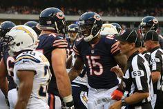 Chargers Bears Football Brandon Marshall