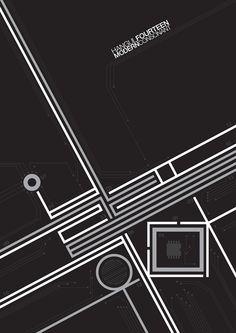 vhan kim - typo/graphic posters