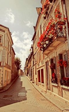 Normandy, like a scene out of an old movie