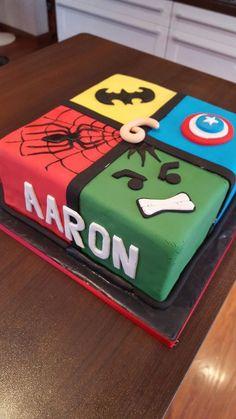 Resultats De Recherche Dimages Pour Gateau Avengers Facile Square Birthday Cake