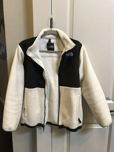 fb7bdf070 Girls Sz XL The North Face Denali Warm Fleece White Full Zip Jacket  #fashion #