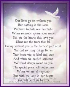 Loss Of A Loved One Quotes And Poems Magnificent Dad You Never Said Goodbye A Poem About Losing A Loved One