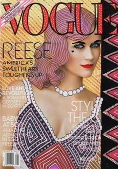 Reese at Vogue, Ana Strumpf Re-Cover Magazine