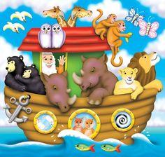 Imagens da Arca de Noé. - Idéias e material livre para festas e celebrações Oh My Fiesta!