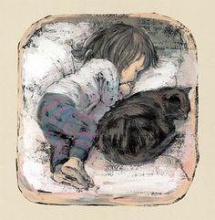 Komako Sakai illustration from Hannah's Night
