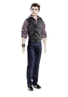 Amazon.com: Barbie Collector The Twilight Saga: Breaking Dawn Part II Emmett Doll: Toys & Games