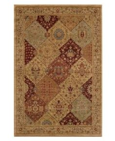 "Closeout! Momeni Area Rug, Belmont Be-01 Burgundy 2'3"" x 7'6"" Runner Rug"