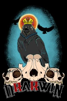 King Crow T-shirt on Behance