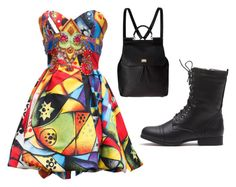 Senza titolo #54 by hopegloverglow on Polyvore featuring moda, Versace and Dolce&Gabbana