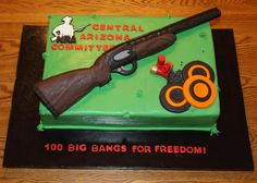 Cake Was Donated For A Skeet And Trap Event In Phoenix AZ The Shot cakepins.com