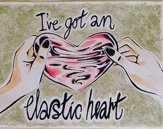 Sia Elastic Heart fan art