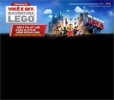 Promoção Você e SKY - Em Uma Aventura LEGO!