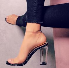 reputable site f1e7b f11a8 Tacon Negro, Tacones Gruesos, Zapatos Pump, Sandalias, Zapatillas, Zapatos  Originales,
