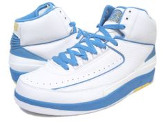 finest selection 0e3ae beda9 Buy Mens Nike Air Jordan 2 Retro Carmello Anthony (Melo) - White University  Blue-Varisty Maize New Release from Reliable Mens Nike Air Jordan 2 Retro  ...
